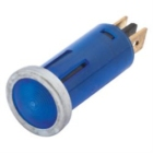 Kontr.lamp LED Sinine
