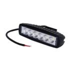 Töötuli / LED / 18W / 1170lm / 6x3W / Lai, kandiline