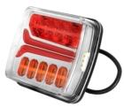 Tagatuli / LED / 12/24V / Gabariittuli, vasak suunatuli, piduri- ja numbrituli