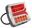 Tagatuli / LED / 12/24V / Gabariittuli, parem suunatuli, piduri- ja numbrituli