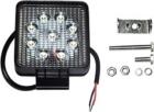 Töötuli / LED / 27W / 1800lm / 9x3W / Kitsas, kandiline