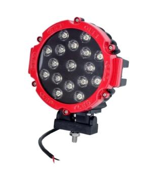 Töötuli / LED / 51W / 3740lm / 17x3W / Kitsas, ümar