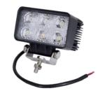 Töötuli / LED / 18W / 1200lm / 6x3W / Lai, kandiline