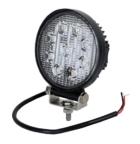 Töötuli / LED / 27W / 1800lm / 9x3W / Kitsas, ümar