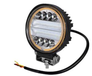Töötuli / LED / 30W / 2900lm / Lai, ümar / Kollane silm