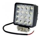 Töötuli / LED / 42W / 3300lm / 16x3W / Kitsas, kandiline